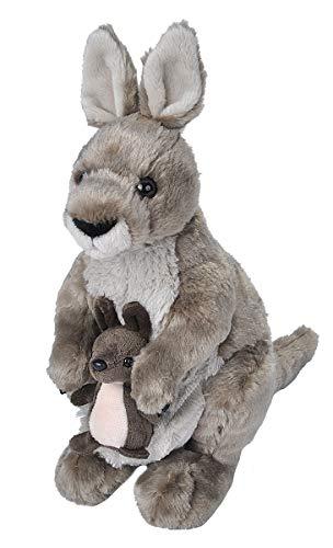 Wild Republic Peluche Kangourou Cuddlekins, Jouets, 30cm