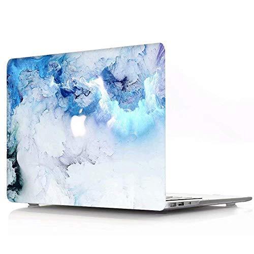 Nobranded AQYLQ Funda para 2020 2019 2018 MacBook Air 13 Pulgadas A2179/A1932 con Pantalla Retina & Touch ID, Carcasa Rígida Protector de Plástico Cubierta,Mármol Azul R778