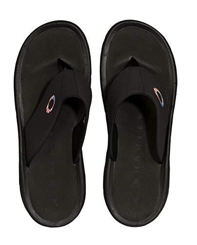 Oakley Supercoil Men's Sandal (USA Print)- Size 9.0, Black