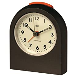 BAI Pick-Me-Up Alarm Clock, Gunmetal