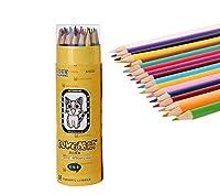 Colorful pencil 学校、オフィス、執筆、描画とスケッチ50分の30/100本のためのキッド大人アーティスト学生初心者のための持続的なHBスナップ耐性&ロング (サイズ : 36-Colours)