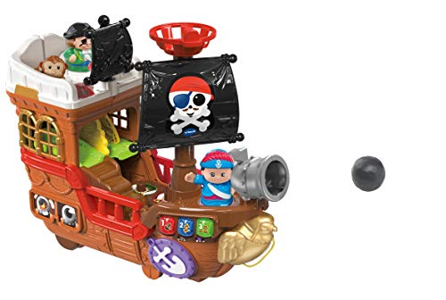 VTech 80-177874 Kleine Entdeckerbande - Piratenschiff, EasyMail-Verpackung, mehrfarbig