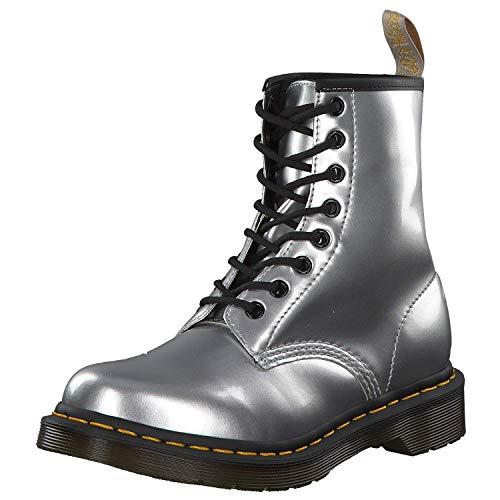 Dr. Martens Womens 24865040_38 Trekking Shoes, Silver