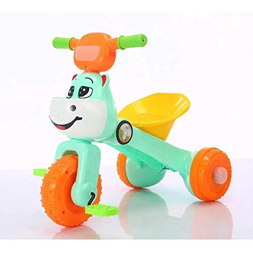 GPWDSN Nuevo Triciclo Triciclo Triciclo para bebé Triciclo Scooter Bicicleta de Pedales para niños pequeños Bicicleta para niños Equilibrio para niños Juguetes con 3 Ruedas Triciclo para niños Bici
