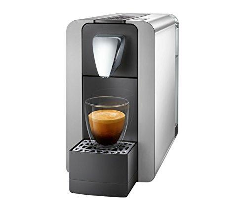 Cremesso Compact One II Kaffeemaschine, Shiny Silver