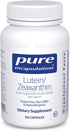 Pure Encapsulations - Lutein/Zeaxanthin - High Strength Blend for Macular Support and Overall Visual Functioning - 120 Capsules