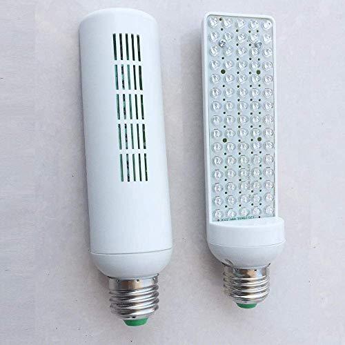 Wachstumslampe LED Clip Pflanzenlampe LED Sukkulente Pflanzenwachstumslampe Gemüse Melone und Obst Baumschule Fülllicht 1Set 2 Zwiebeln