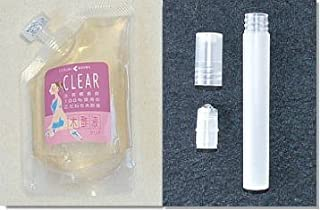 木酢液クリア100ml + ロールオン容器【木酢液クリアは発ガン性検査済みです】便利な容器とのセット