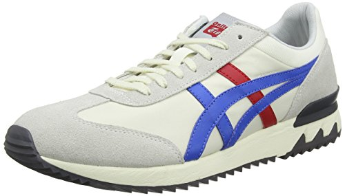 ASICS Unisex-Erwachsene California 78 EX Sneaker, Grau (Cream/Classic Blue 0042), 42 EU