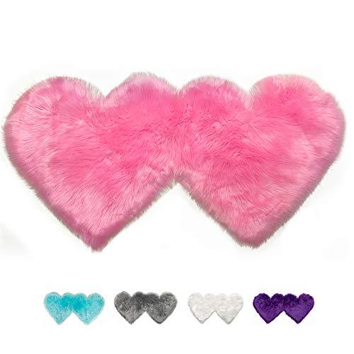 alfombra en forma de corazon fabricante YEAKOO