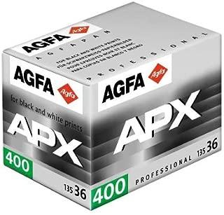 Agfa Agfapan APX 400 - Black & white print film - 135 (35 mm) - ISO 400 - 36 exposures