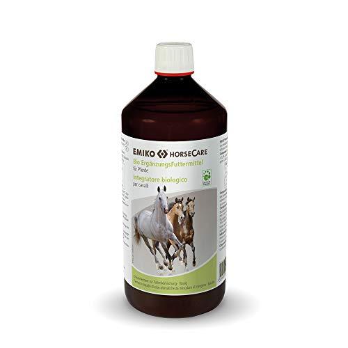 Emiko HorseCare Ergänzungsfuttermittel für Pferde Effektive Mikroorganismen 1L