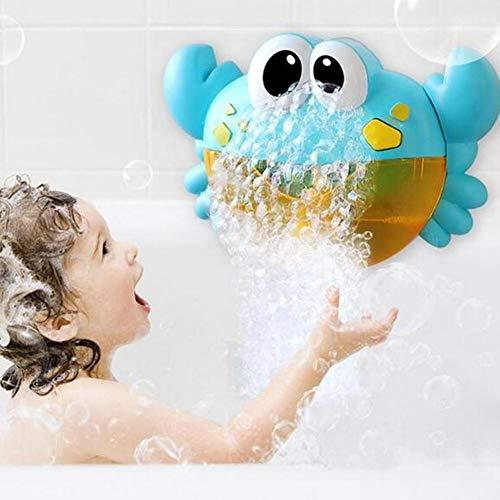 ZH Juguete De Baño para Bebésmáquina De Soplado De Burbujas De Ducha Eléctricamusical Automático para Niños De 3 A 4 Años