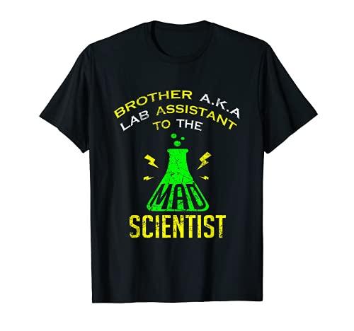 Disfraz de cientfico loco para hombre Camiseta