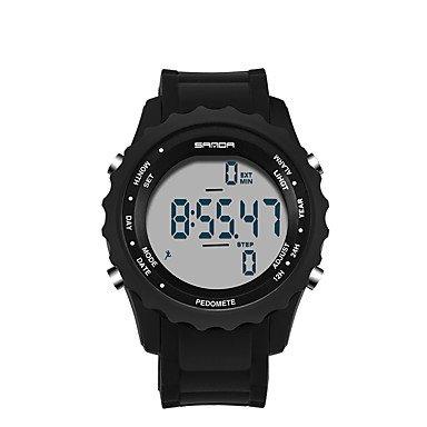 XKC-watches Herrenuhren, Sanda Herrn Armbanduhr Smart Watch Militäruhr Modeuhr Sportuhr digital Japanischer Quartz LED Schrittzähler Nachts Leuchtend Stopuhr