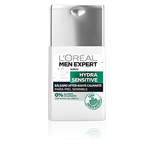 L'Oréal Paris Men Expert Hydra Sensitive Bálsamo After-Shave Calmante para Hombres con Piel Sensible - 125 ml