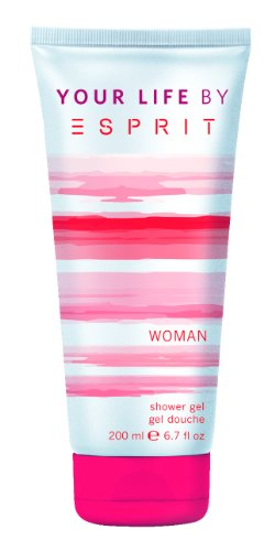 Esprit your Life Woman Shower Gel, 1er Pack (1 x 200 ml)