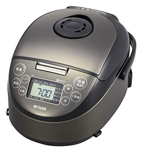 タイガー 炊飯器 3合 IH 一人暮らし用 冷凍ごはん/甘酒/麦めしメニュー 炊きたて  ブラック JPF-N550-K
