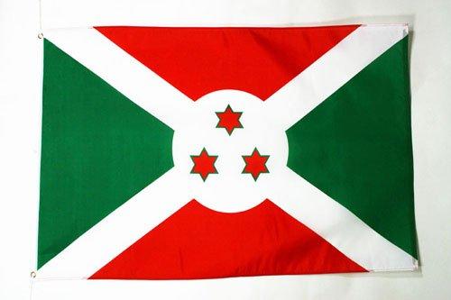 AZ FLAG Burundi Flag 3' x 5' - Burundian Flags 90 x 150 cm - Banner 3x5 ft