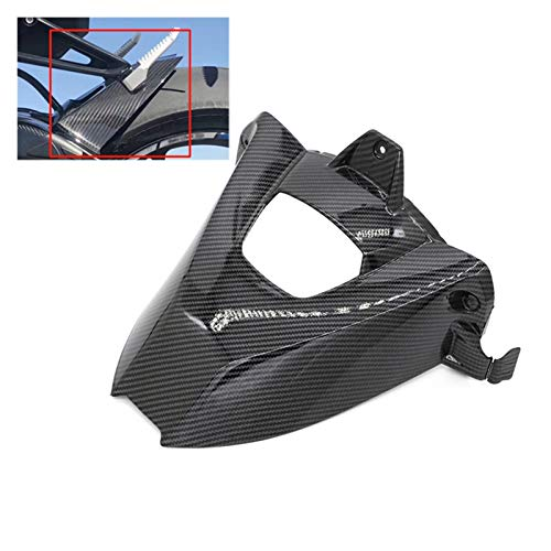 AIMINDENG Carbon Black Motorcycle Rear Wheel Hugger Fender Mudguard Cover Fairing Fit for BMW S1000RR S1000R 2009-2018 2017 2016 2015 2014