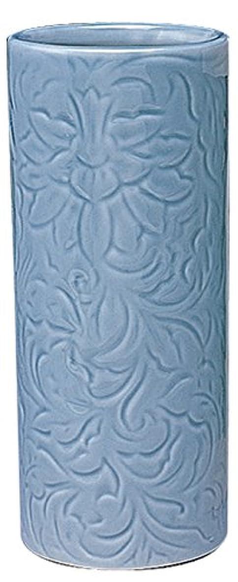 コンソール発見するオーストラリア人マルエス 御仏具 青磁唐草投入花瓶 7.0寸 ブルー