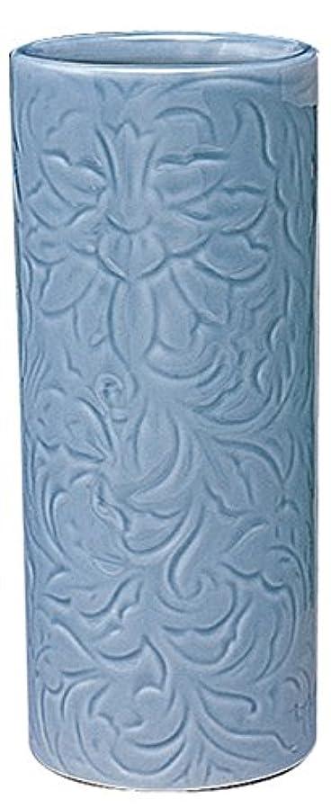 装備するジャズオリエンテーションマルエス 御仏具 青磁唐草投入花瓶 7.0寸 ブルー