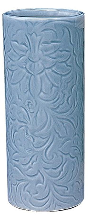 拡声器付属品ナットマルエス 御仏具 青磁唐草投入花瓶 7.0寸 ブルー