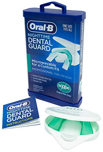 Oral-B® Nighttime Dental Guard – Less Than 3-Minutes for...
