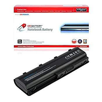 DR BATTERY HP Laptop Battery 593553-001 Replacement Battery for HP Laptop MU06 Notebook Battery HP Pavilion DV6 Battery DV7 HP Pavillon Battery HP Compaq Presario CQ42 [10.8V / 4400mAh / 48Wh]