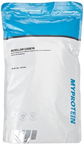 Myprotein Micellar Casein Natural Vanilla, 1er Pack (1 x 1 kg)