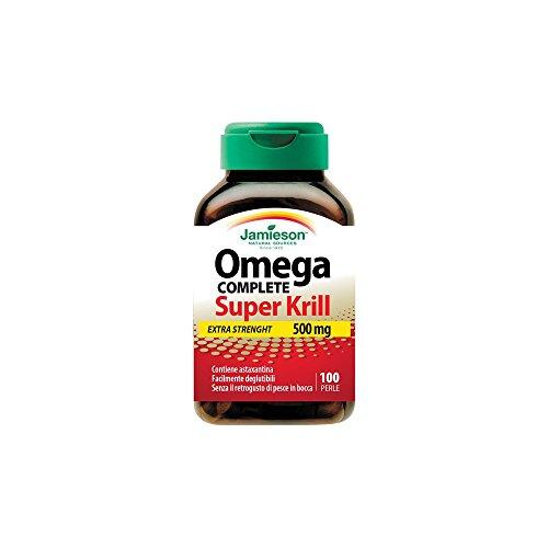 Omega Red Super Krill - Jamieson - integratore alimentare di Omega 3