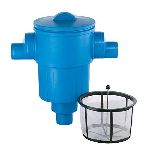 Regenwasserfilter Zisternenfilter 3P Gartenfilter XL mit Kunststoffsieb für den Einbau in die Zisterne, Anschluss DN150, Höhenversatz 0 cm. Für die Regenwassernutzung im Garten