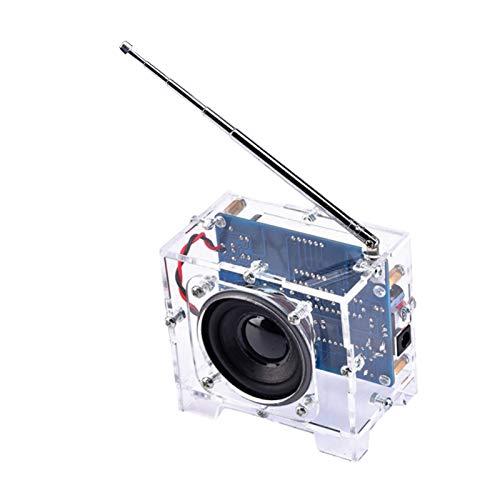 non-brand Receptor de Proyecto de Kits de Bricolaje de Módulo de Radio FM Electrónico para Enseñanza de Soldadura