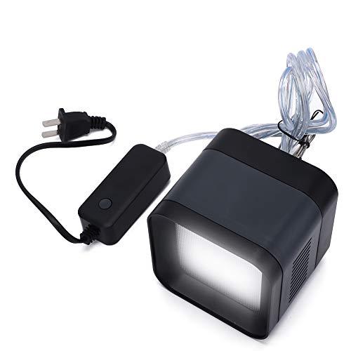 Fdit Luce per Acquario a LED Luce per Acquario a Spettro Completo Luce per Acquario a LED con Spettro di luminosità Regolabile Controller Esterno per Serbatoi con Piante d Acqua Dolce