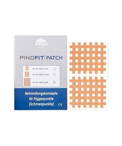 PINOFIT PATCH 49855 Gittertape groß 20 Bögen á 2 Patches