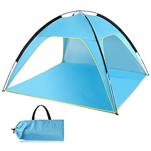 QXinjinXZP Tienda Impermeable Beach Protección UV Sombrilla Carpa del pabellón Ligero al Aire Libre Tienda de campaña refugios Dom Refugio Pesca Que acampa de Tent