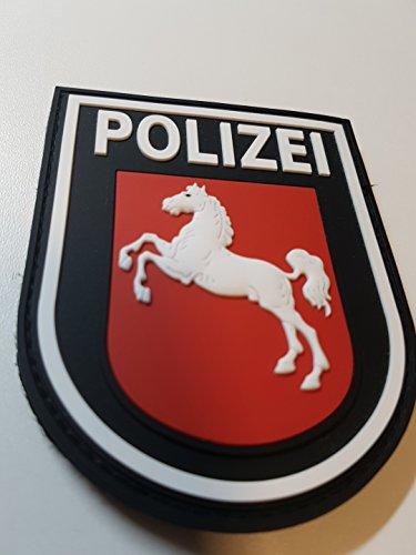 ATG Ärmelabzeichen Polizei Niedersachsen 3 D Rubber Patch (Farbig) (Farbig)