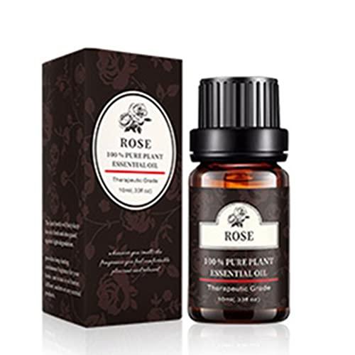 HHuin Aceite esencial Pure Natural de sándalo Ylang natural, 10 ml, aceites esenciales puros para aromaterapia, difusor de aire fresco