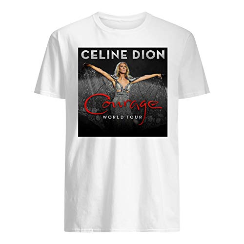 Leet Group Celine Dion Courage World Tour T-Shirt
