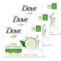 24-Count DOVE Go Fresh Beauty Bar Gentle Cleanser for Softer and Smoother Skin