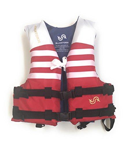 Bluestorm(ブルーストーム) ライフジャケット 国土交通省承認幼児用 BSJ-210C レッド