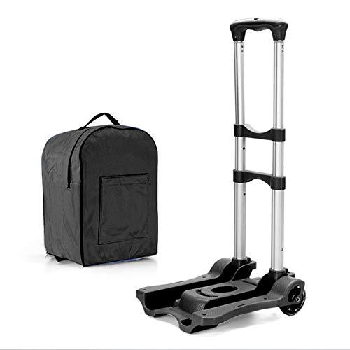 carretillas plegables para escaleras Carro plegable de aleación de aluminio, portátil, con...