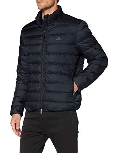 GANT Herren The Light DOWN Jacket Jacke, Black, XXL