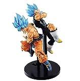 2Pcs / Cartoon Anime Game Dragon Ball Super Movie Broly Tag Fighters Goku Vegeta Figura De Acción Dr...