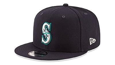 New Era Seattle Mariners Adjustable 9Fifty MLB Straight Brim Baseball Cap 950