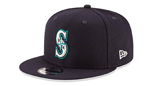 New Era Authentic Seattle Mariners Navy 9Fifty Snapback OSFM Hat Cap- Adjustable