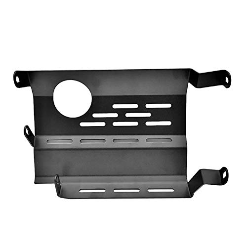 Lhtyouting Motorcycle Scooter Skid Plate Motor Guard Chassis Protection Cover for Yamaha Nmax155 2015-2021 hnlyt (Color : Black)