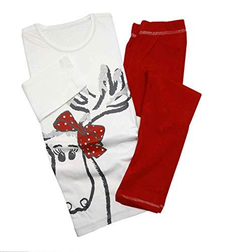 TCM Tchibo Mädchen-Pyjama, Single-Jersey (122/128)