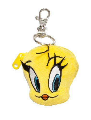 Looney Tunes 233318 - Tweety Pluche Schathouder, 7 cm