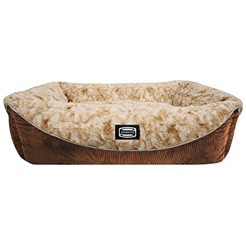R2P Group Simmons Regal Dream Plush Cuddler Pet Bed